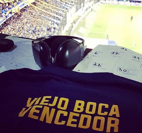 Photo of La Bombonera me hace Feliz