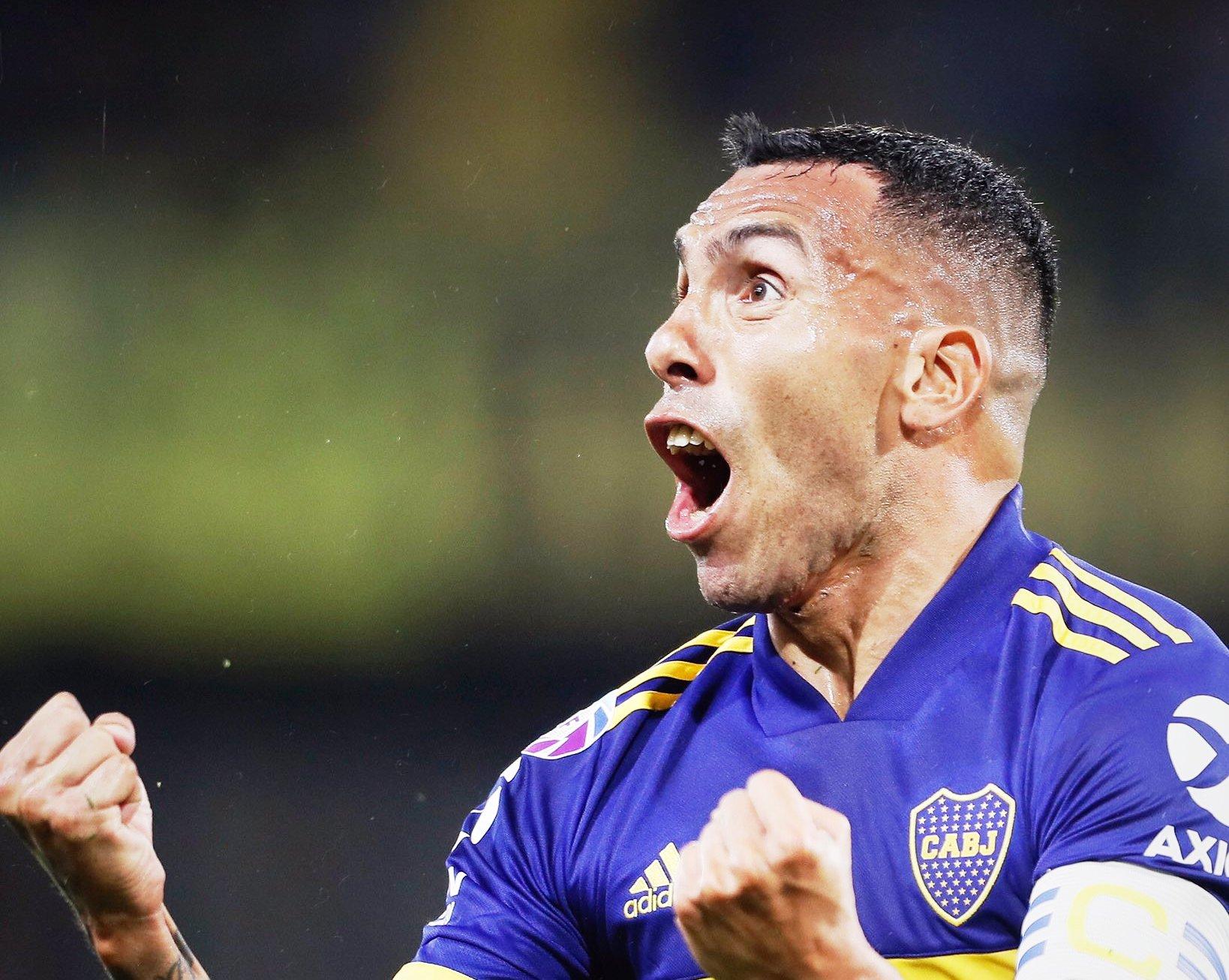 """Photo of Tevez, confiado: """"Están primeros, pero también pensando en Boca"""""""