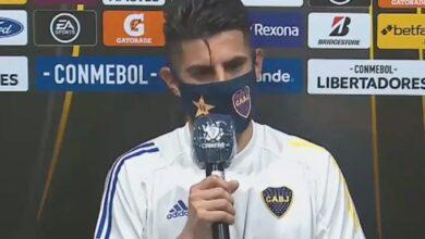 """Photo of Zambrano: """"Somos Boca, salimos a buscar el resultado en todos los partidos"""""""