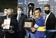 """Photo of Tevez: """"Es importante ganar el primer torneo que lleva el nombre de Diego Maradona"""""""