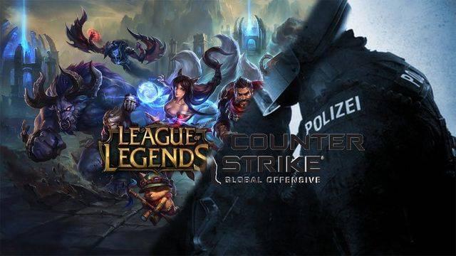 League Of Legends y Counter Strike